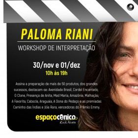 Workshop Paloma Riani