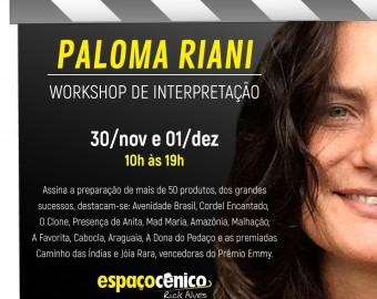 Workshop Paloma Riani